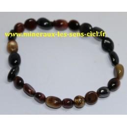 Bracelet Grains - Oeil de Faucon - Tigre - Taureau