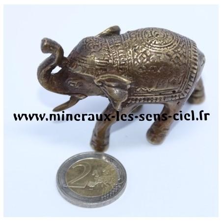 Elephant en Bronze Antique doré