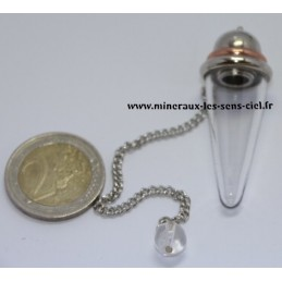 Pendule conique avec chambre pyrex