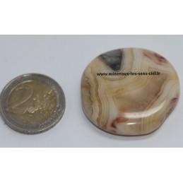 Agate Crazy Lace galet pierre roulée