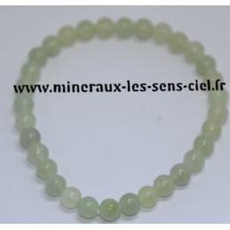 Bracelet Boules 6mm en Jade