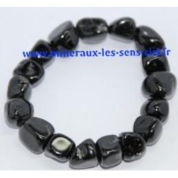 Bracelet Nuggets Tourmaline Noire
