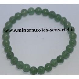 Bracelet Boules 6mm Aventurine Verte