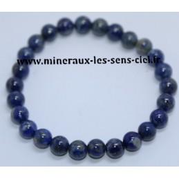 Bracelet Boules 8mm Lapis Lazuli
