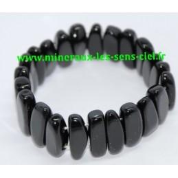 Bracelet Hawai Obsidienne Noire