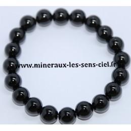 Bracelet Boules 10mn Onyx Noir