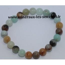 Bracelet Boules 8mn Opale des Andes