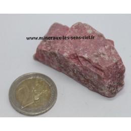 Thulite pierre brute