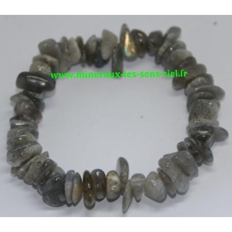 Bracelet Baroque Labradorite Poli