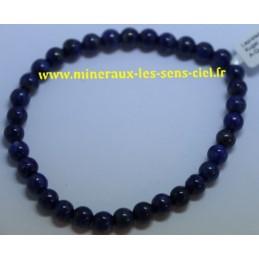Bracelet Boules 6mn Lapis Lazuli