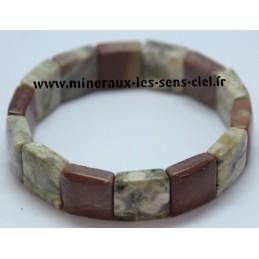 Bracelet Large Jaspe Orbiculaire