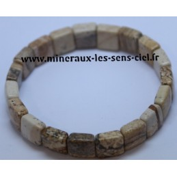 Bracelet Square Jaspe Paysage