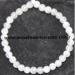 Bracelet Boules 6mm Pierre de Lune