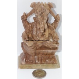 Ganesh en Stéatite 360gr