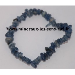 Bracelet Baroque Disthène Cyanite