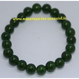 Bracelet Boules 8mm Jade Tapei