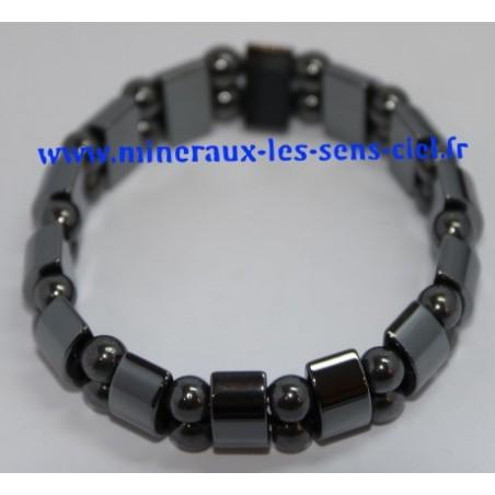 Bracelet Plaquette Hématite