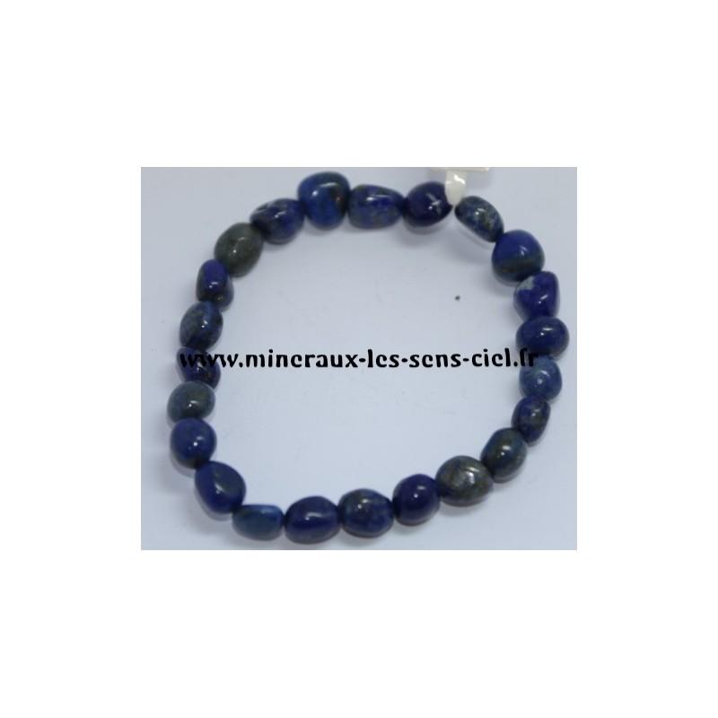 Bracelet Nuggets Lapis Lazuli