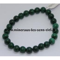 Bracelet Boules 8mm Malachite