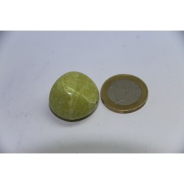 Serpentine pierre roulée