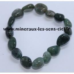 Bracelet Nuggets Agate Mousse