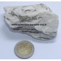 Pyrite sur Dolomite
