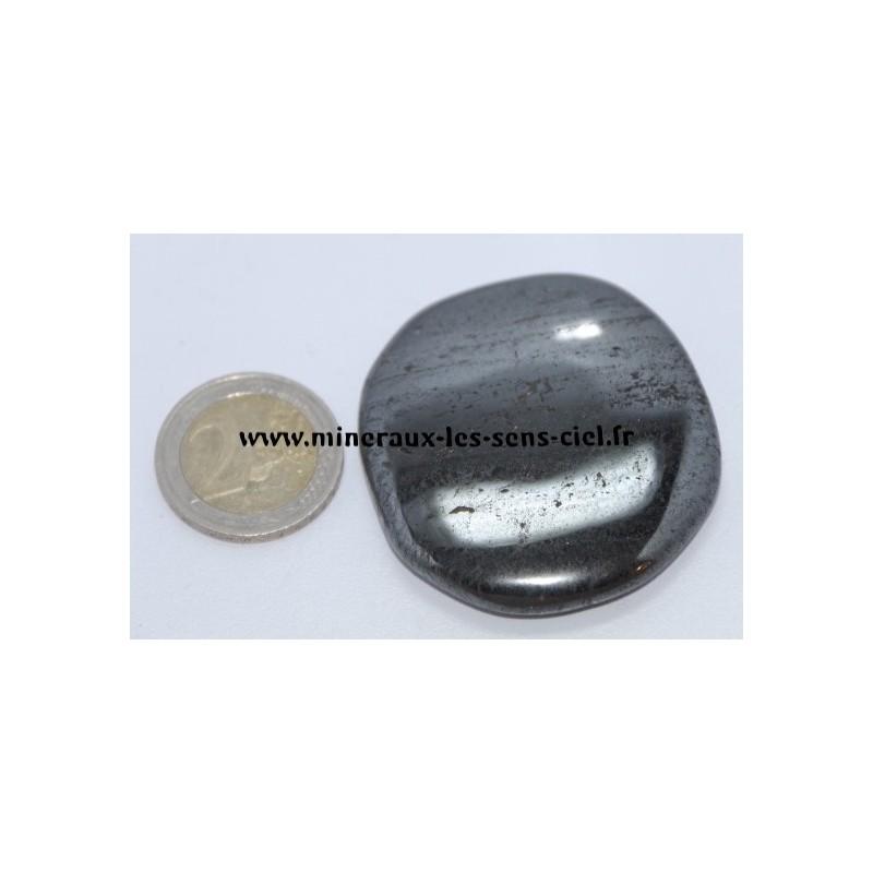 Hématite Galet pierre roulée
