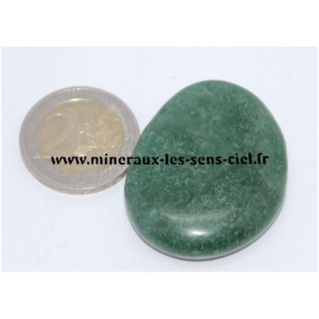 Jade Vert d'Afrique galet pierre roulée
