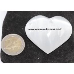 Coeur Sélénite 5cm