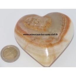 Coeur Onyx Marbre 7,5 cm