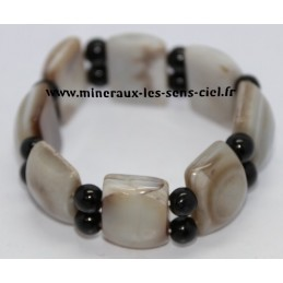 Bracelet en Agate Oeil Céleste