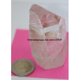 Pointe Cristal de Roche Brute 165gr