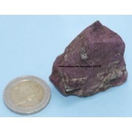 Purpurite pierre brut