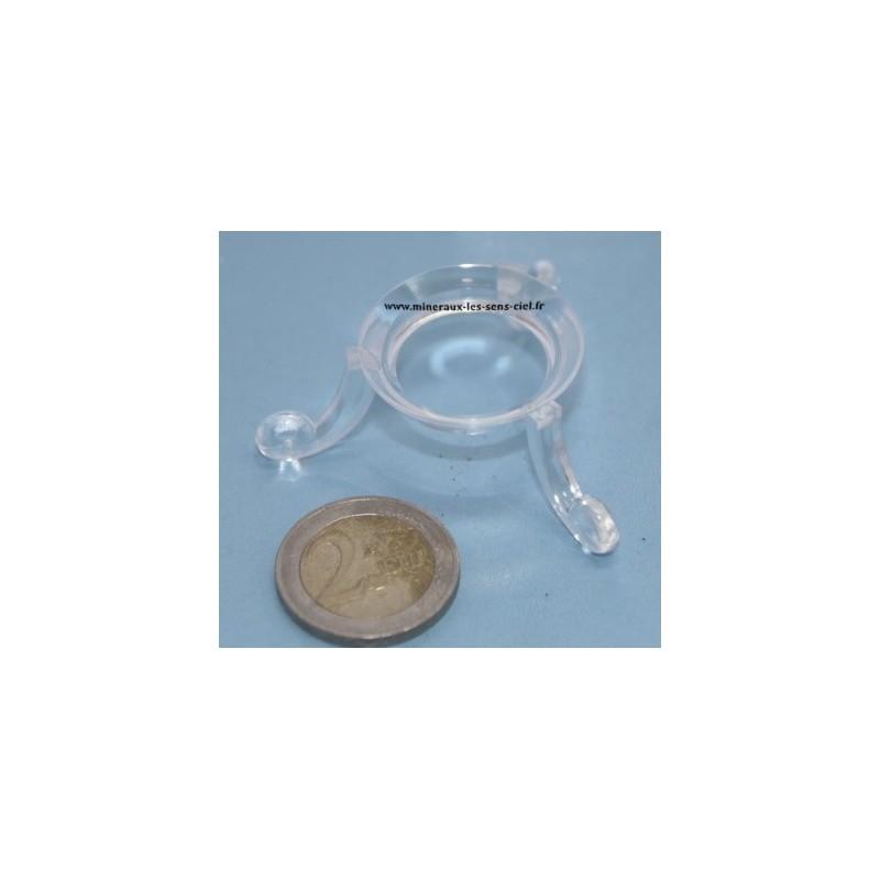 Support PVC pour sphère diamètre 30