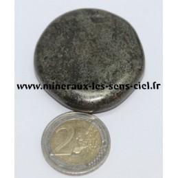 Pyrite galet pierre roulée