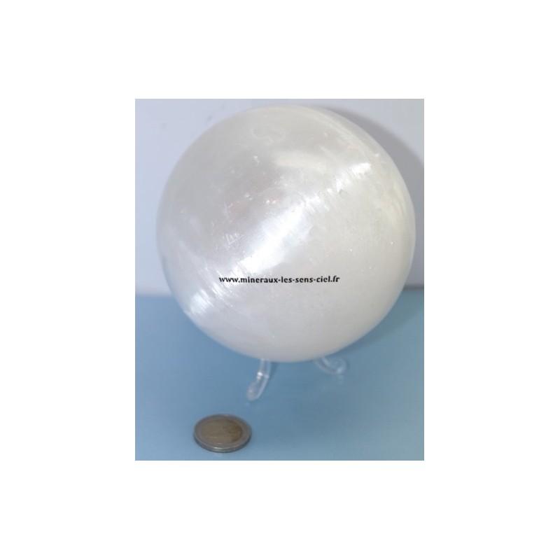 Sphére Sélénite diamètre 110mm