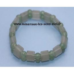 Bracelet Plaquette Aventurine Verte