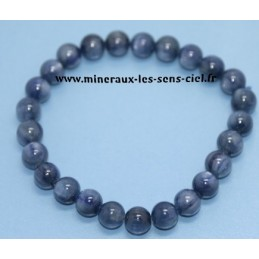 Bracelet Boules 8mm Disthene Cyanite