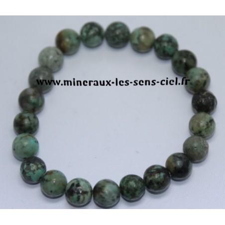 Bracelet Boules 8mm Turquoise
