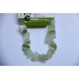 Bracelet baroque Jade vert