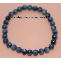 Bracelet Boules 6mm Disthène Cyanite