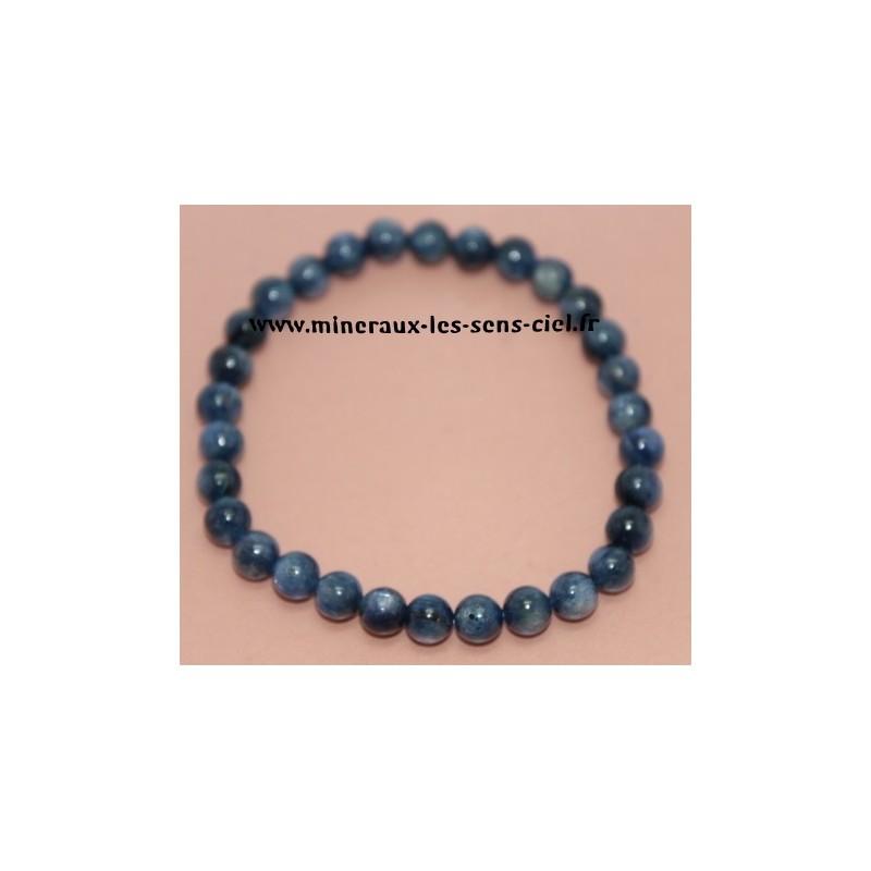 Bracelet Boules 6mn Disthène Cyanite