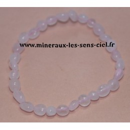 Bracelet Nuggets Quartz Rose