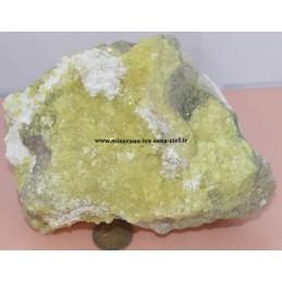 Bloc de Soufre cristallisé 1kg