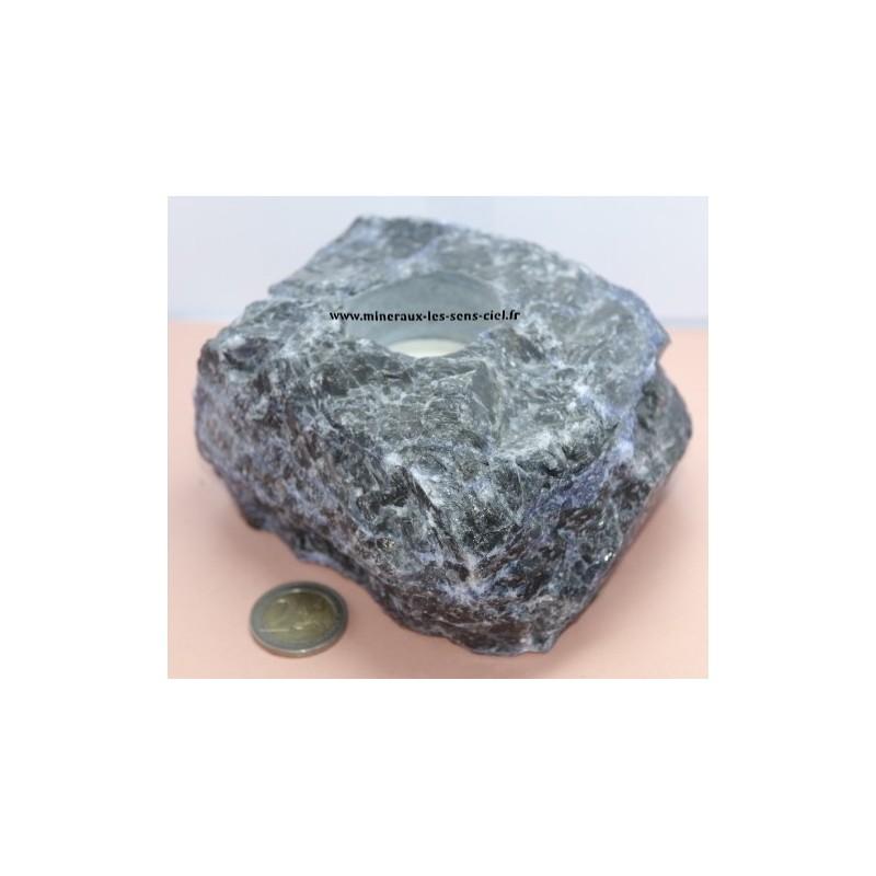 Bougeoir en Sodalite 1,28kg
