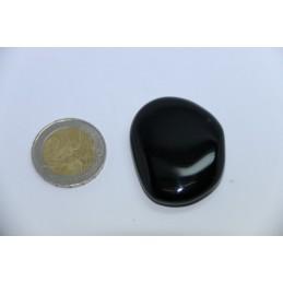 Obsidienne noire galet pierre roulée