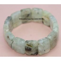 Bracelet plaquette Prehnite