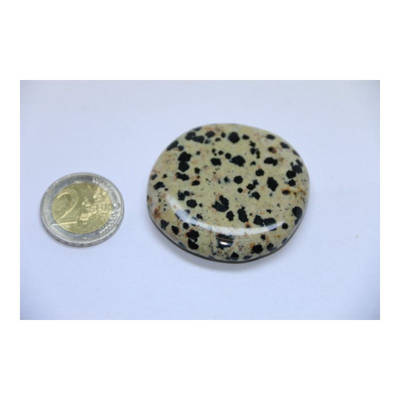 Jaspe Dalmatien galet pierre roulée