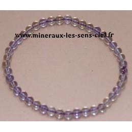 Bracelet Boules 4mn Amétrine