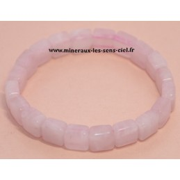Bracelet Square Quartz Rose